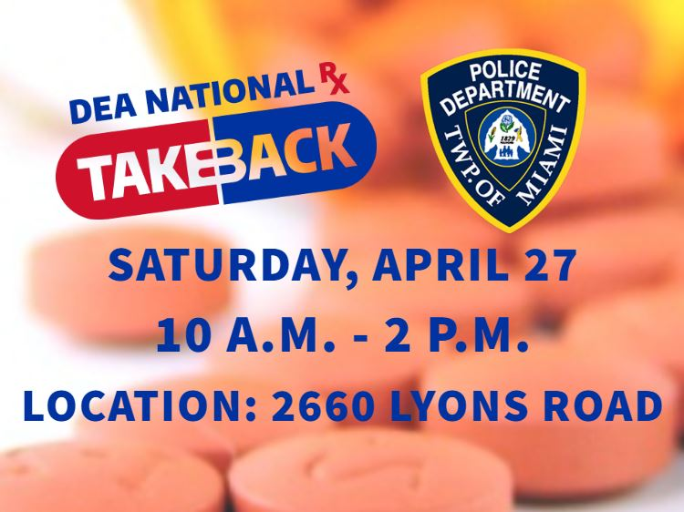 Drug Take back homepage