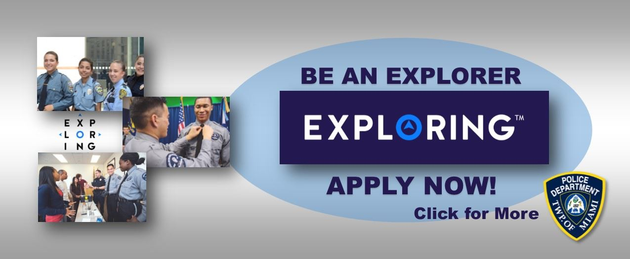 Explorers apply web page Opens in new window