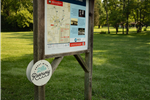 Crains Run Map Sign -Riverway
