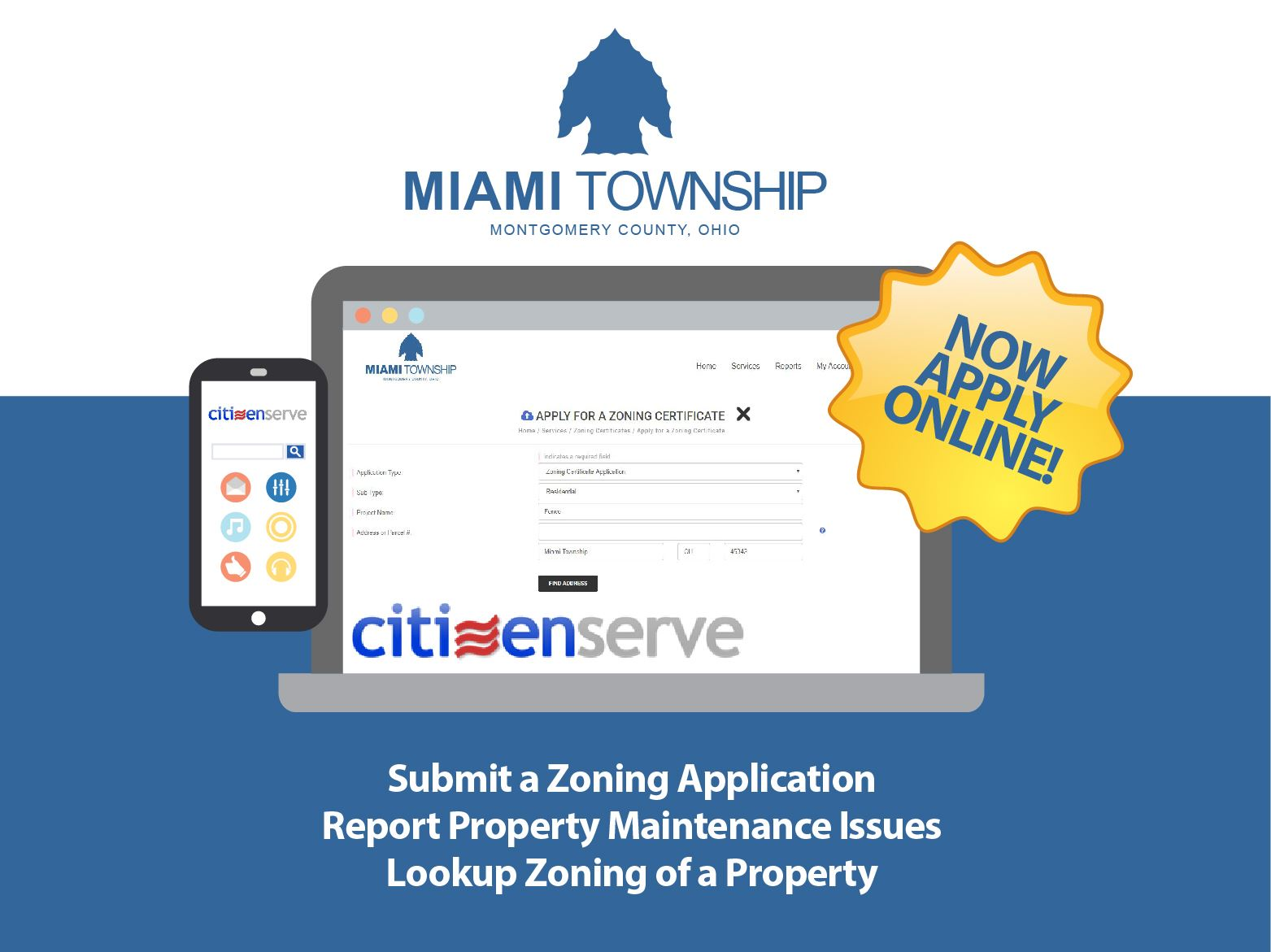 Citizenserve apply online