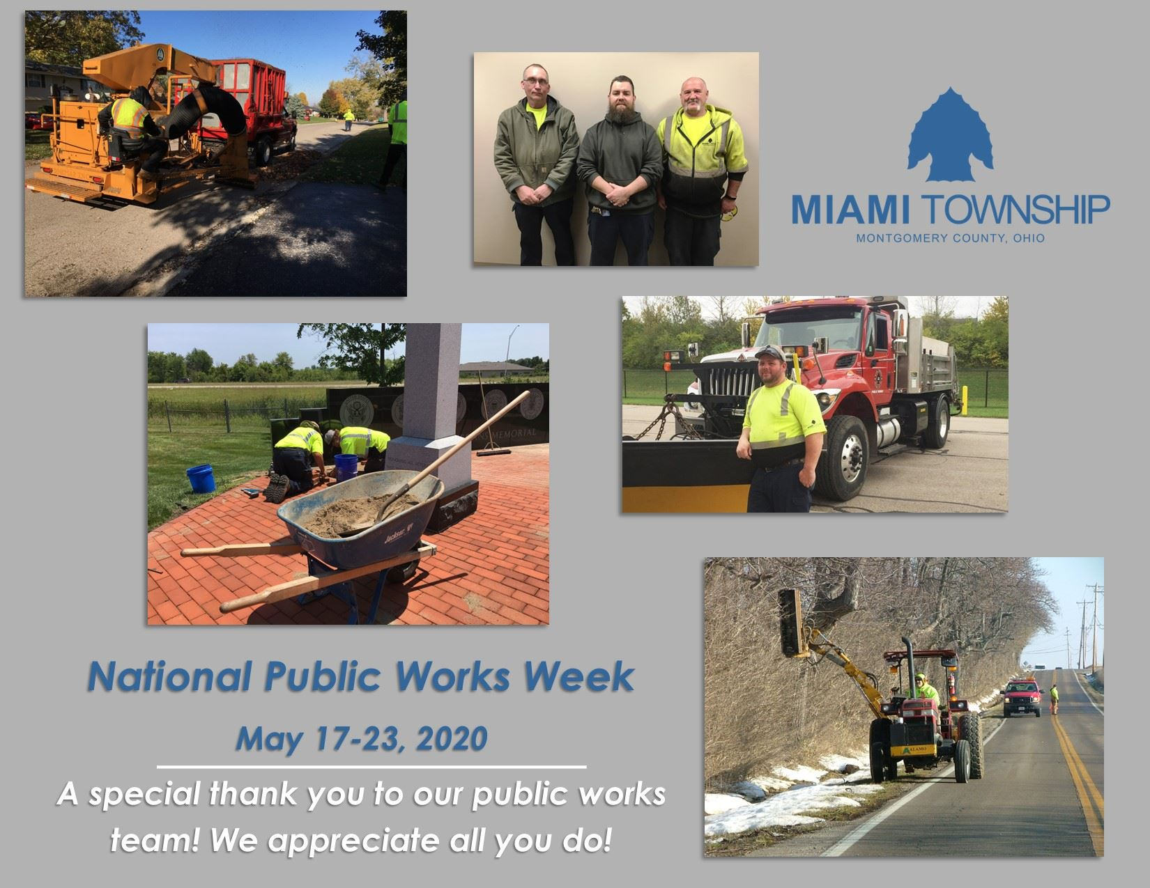 Public Works Week May 17-23 2020