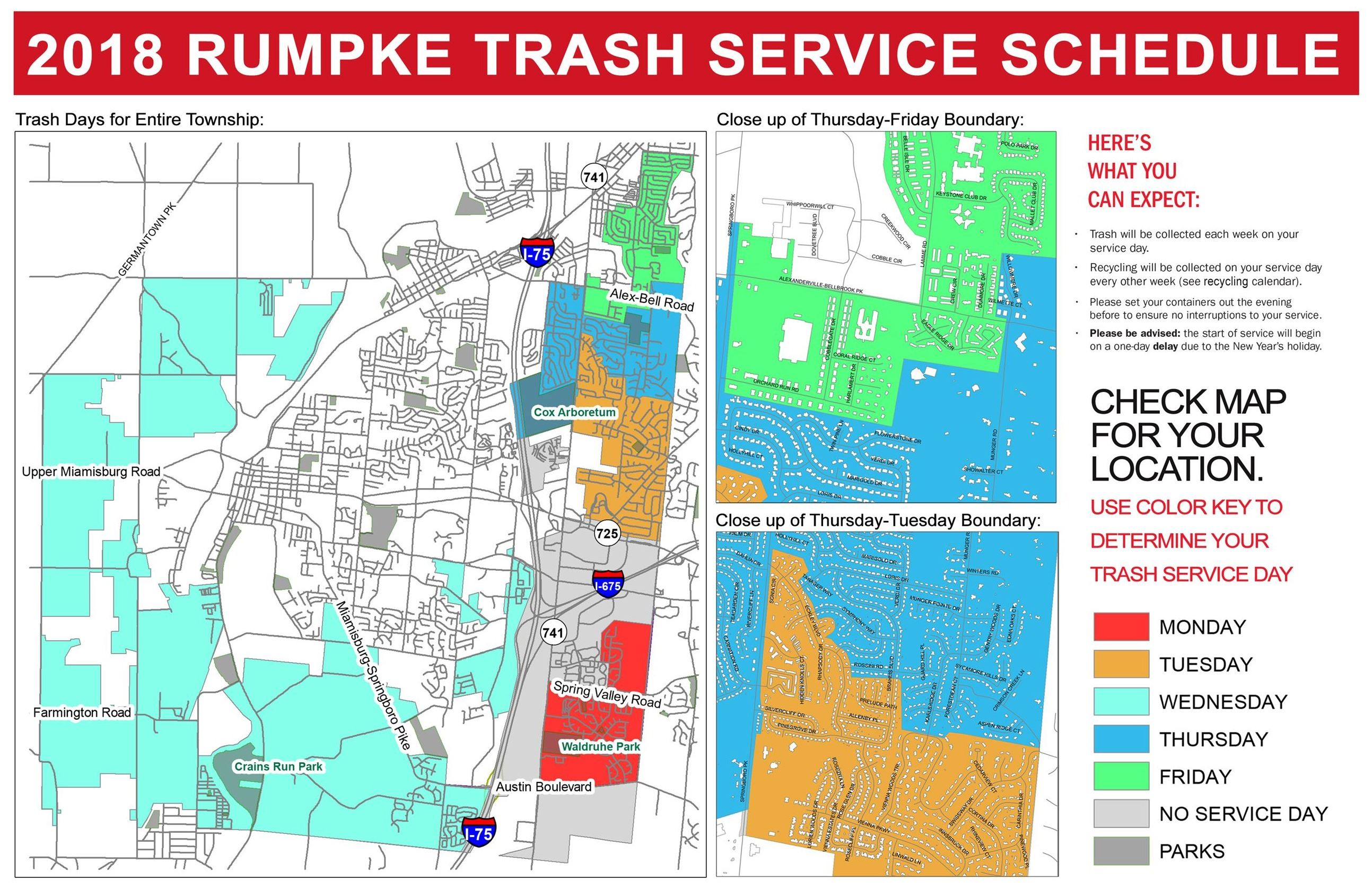 Miami Township Ohio Map.Trash Recycling Information Miami Township Oh Official Website